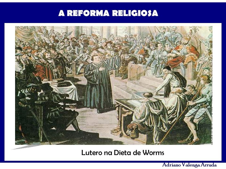 Lutero na Dieta de Worms