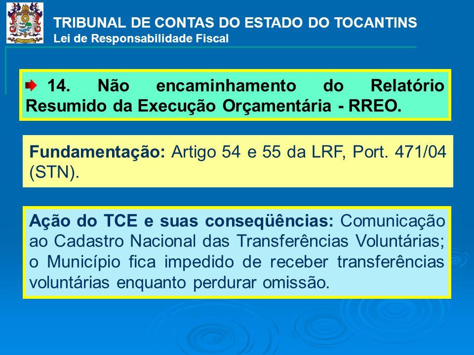 TRIBUNAL DE CONTAS DO ESTADO DO TOCANTINS