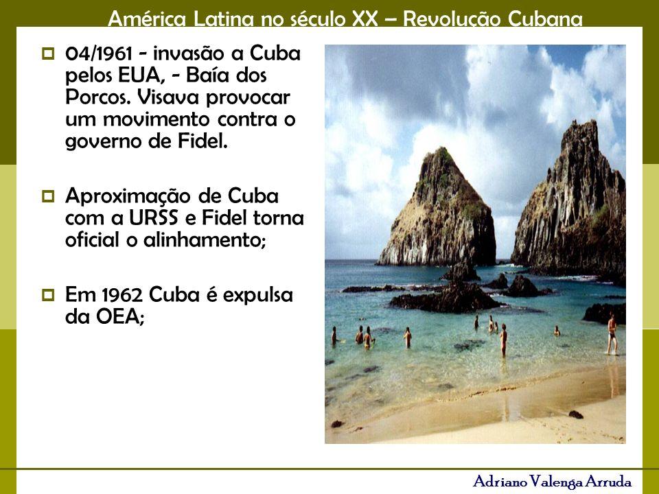 04/1961 - invasão a Cuba pelos EUA, - Baía dos Porcos