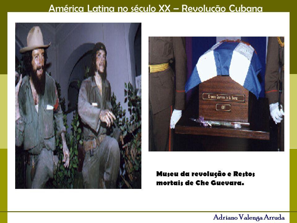 Museu da revolução e Restos mortais de Che Guevara.