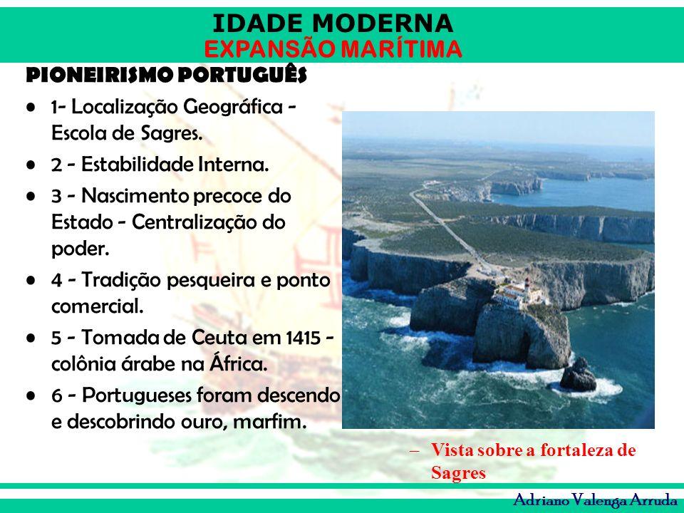 PIONEIRISMO PORTUGUÊS 1- Localização Geográfica -Escola de Sagres.