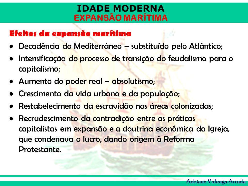 Efeitos da expansão marítima