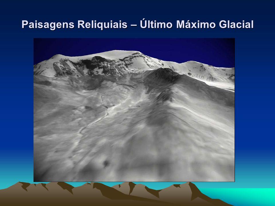 Paisagens Reliquiais – Último Máximo Glacial