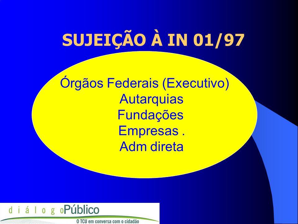 Órgãos Federais (Executivo)