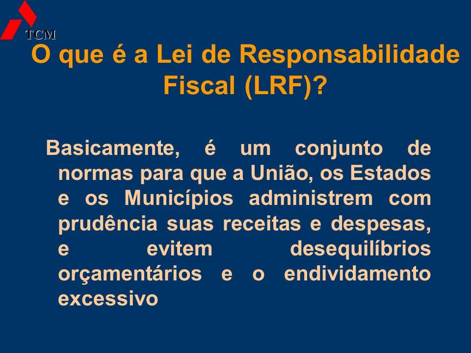 O que é a Lei de Responsabilidade Fiscal (LRF)