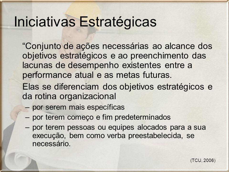 Iniciativas Estratégicas