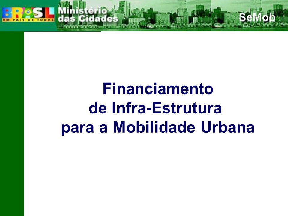 para a Mobilidade Urbana
