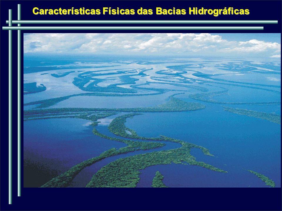 Características Físicas das Bacias Hidrográficas