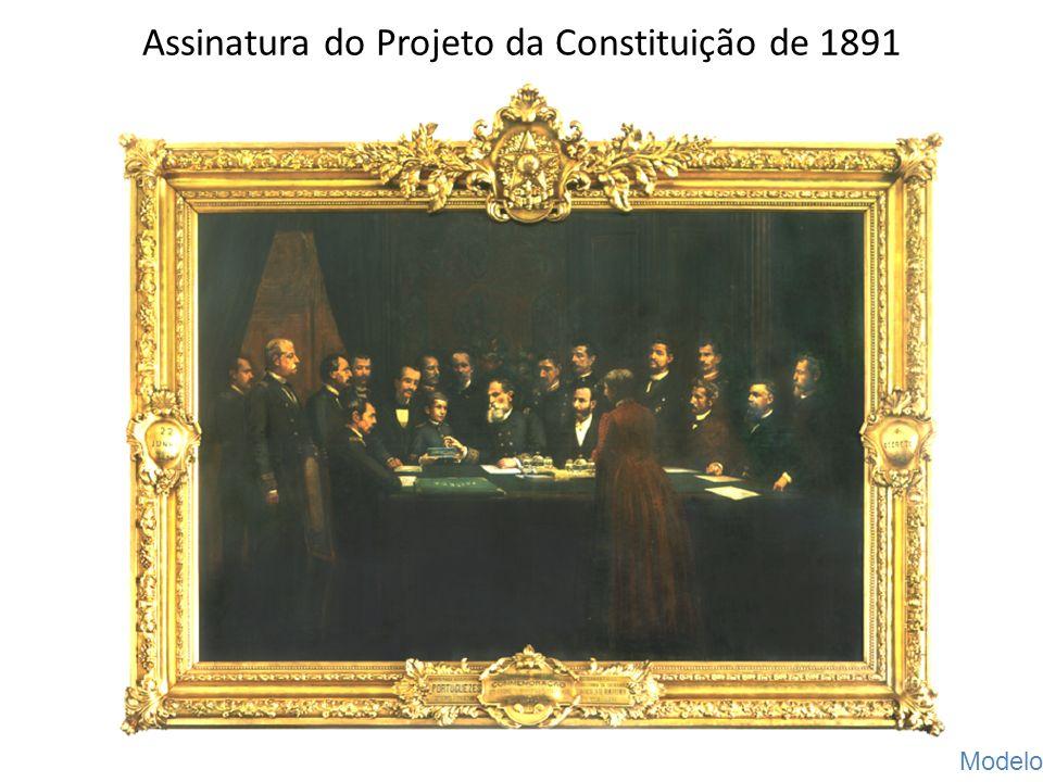 Assinatura do Projeto da Constituição de 1891