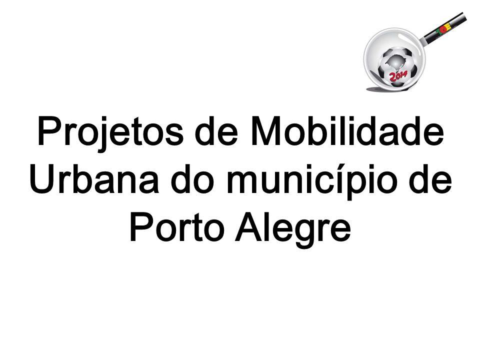 Projetos de Mobilidade Urbana do município de Porto Alegre