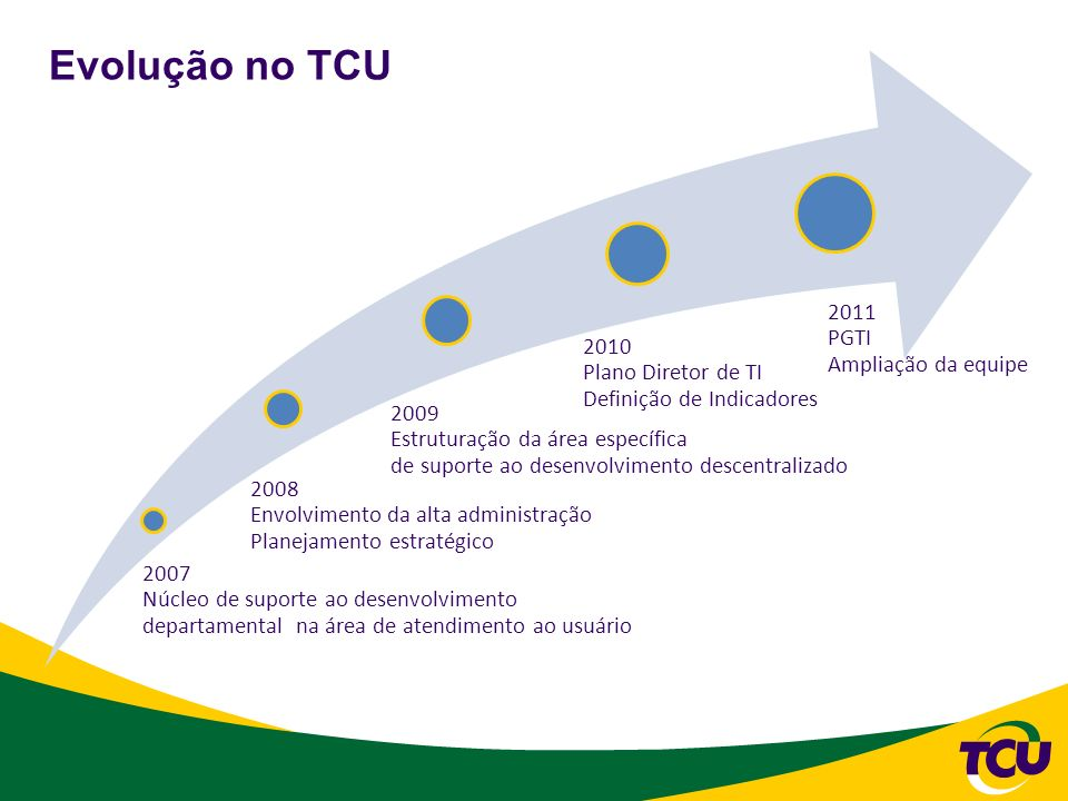 31/10/2008 2007 Núcleo de suporte ao desenvolvimento departamental na área de atendimento ao usuário.
