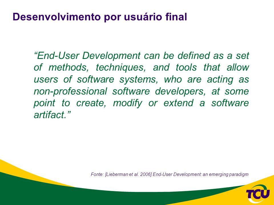 Desenvolvimento por usuário final