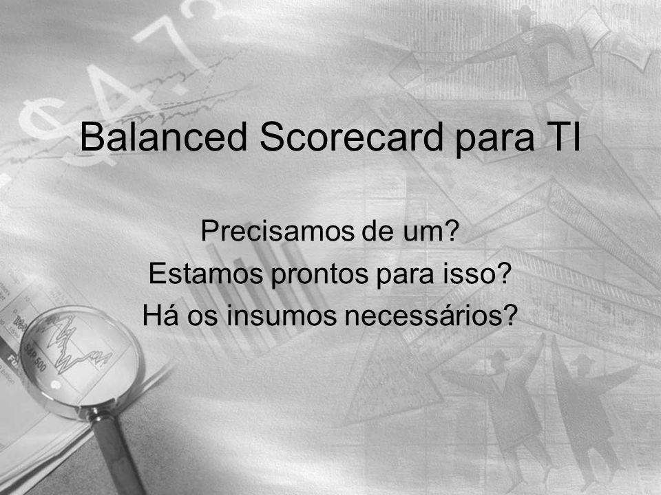 Balanced Scorecard para TI