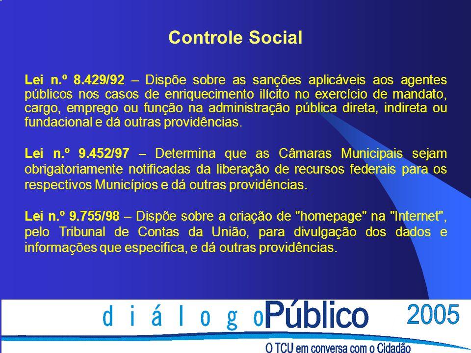 26/03/2017 Controle Social.