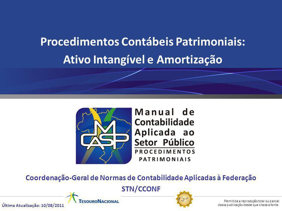 Procedimentos Contábeis Patrimoniais: Ativo Intangível e Amortização