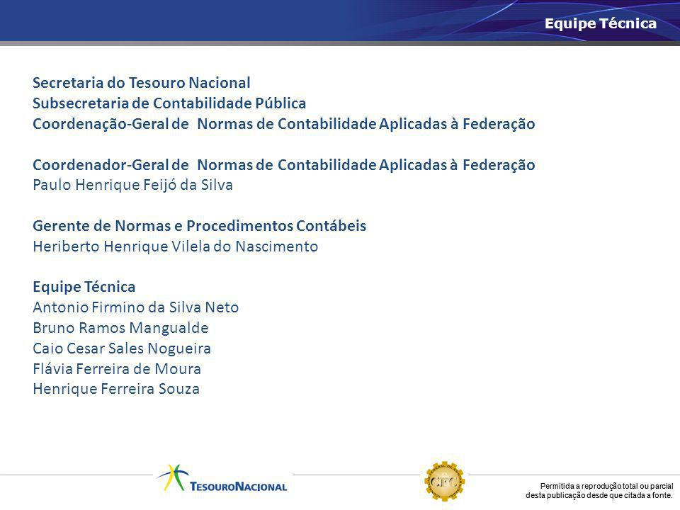 Secretaria do Tesouro Nacional Subsecretaria de Contabilidade Pública