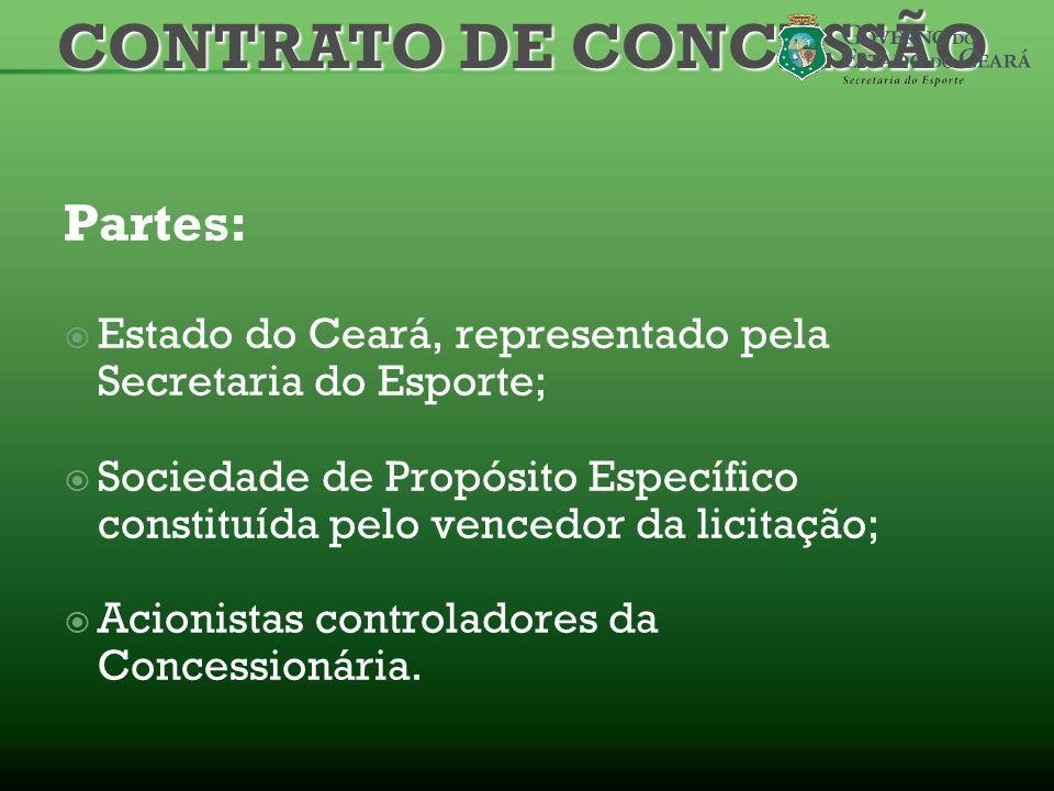 CONTRATO DE CONCESSÃO Partes: