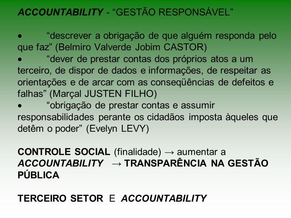 ACCOUNTABILITY - GESTÃO RESPONSÁVEL ·