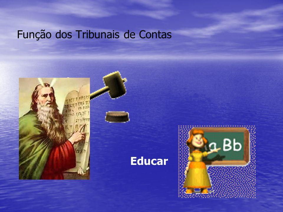 Função dos Tribunais de Contas