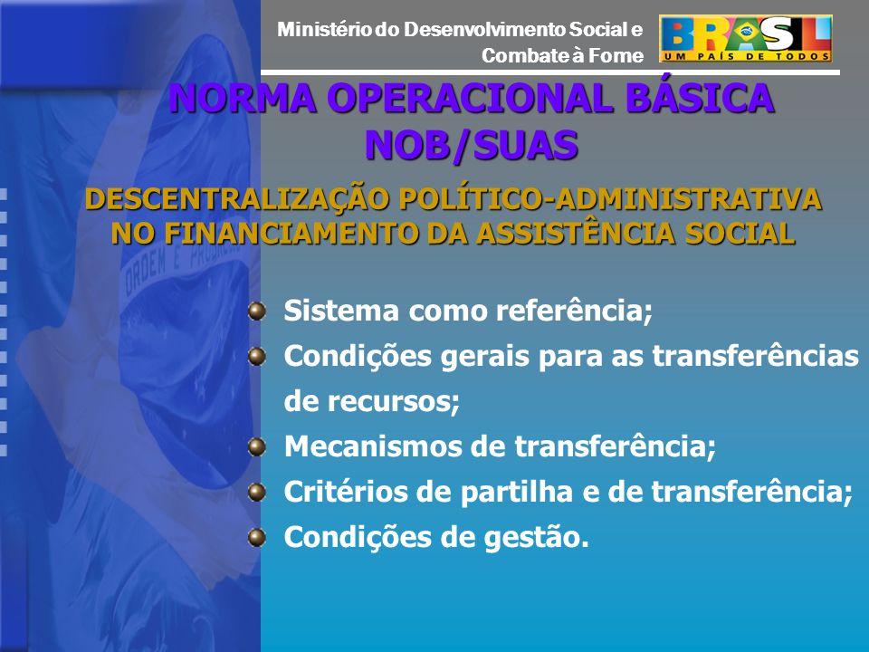 NORMA OPERACIONAL BÁSICA NOB/SUAS