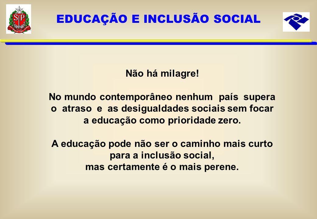 EDUCAÇÃO E INCLUSÃO SOCIAL
