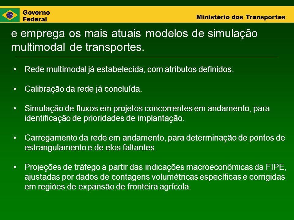 e emprega os mais atuais modelos de simulação multimodal de transportes.