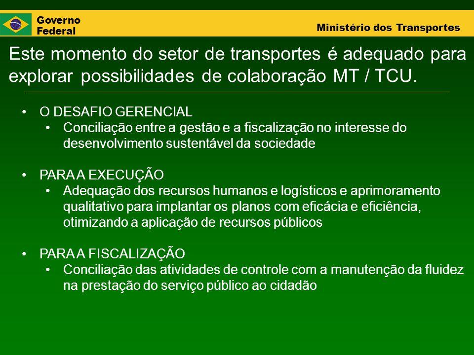 Este momento do setor de transportes é adequado para explorar possibilidades de colaboração MT / TCU.