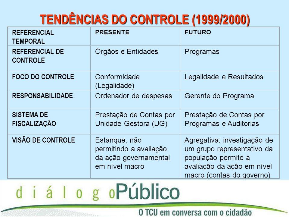 TENDÊNCIAS DO CONTROLE (1999/2000)