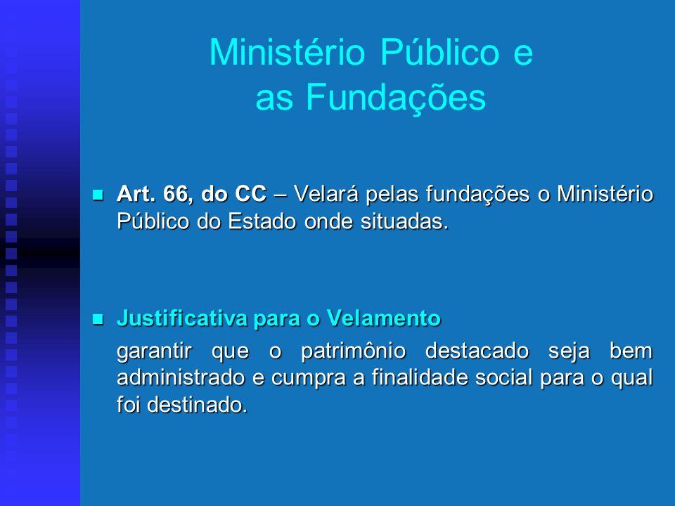 Ministério Público e as Fundações