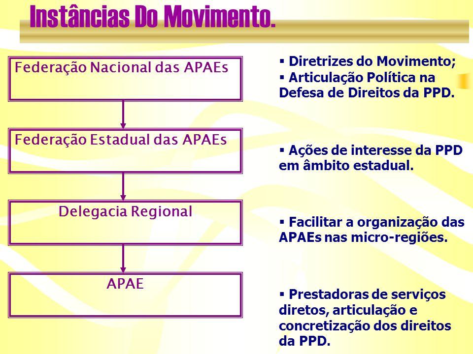 Instâncias Do Movimento.