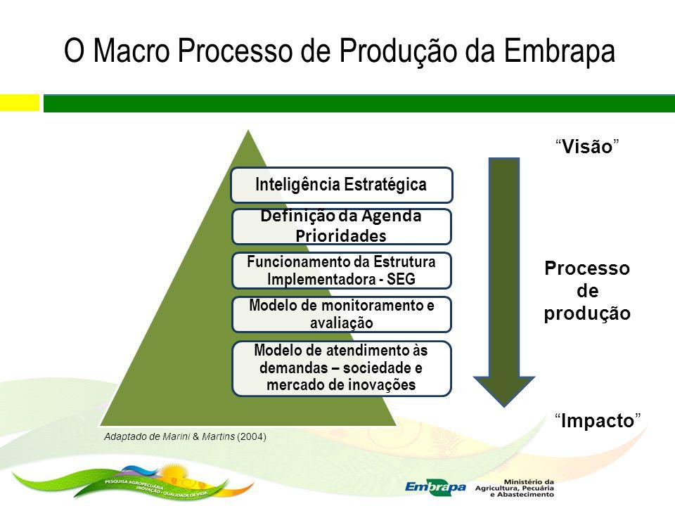 O Macro Processo de Produção da Embrapa