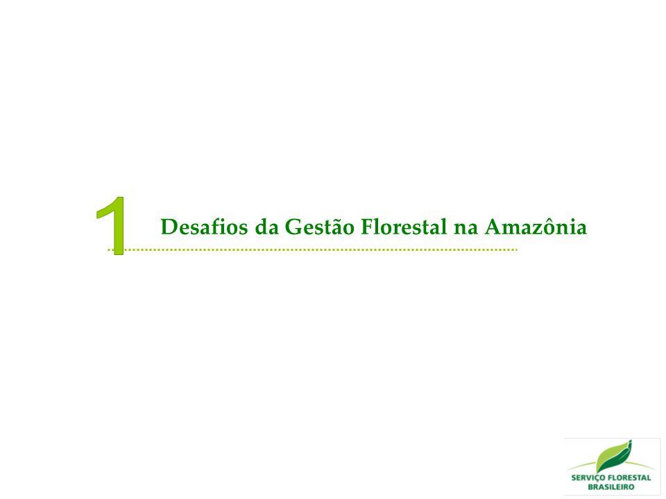 1 Desafios da Gestão Florestal na Amazônia