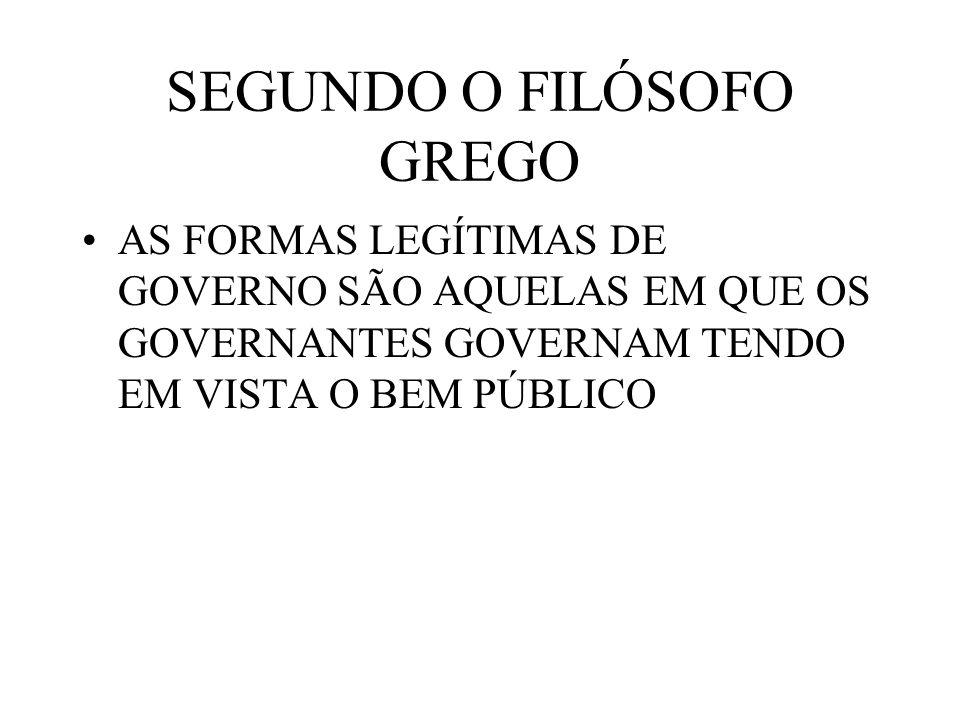 SEGUNDO O FILÓSOFO GREGO