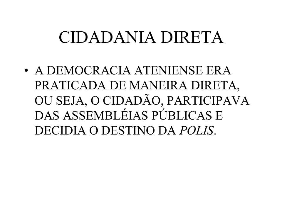 CIDADANIA DIRETA