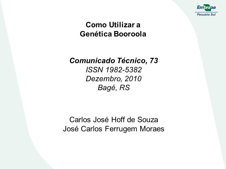 Como Utilizar a Genética Booroola Comunicado Técnico, 73