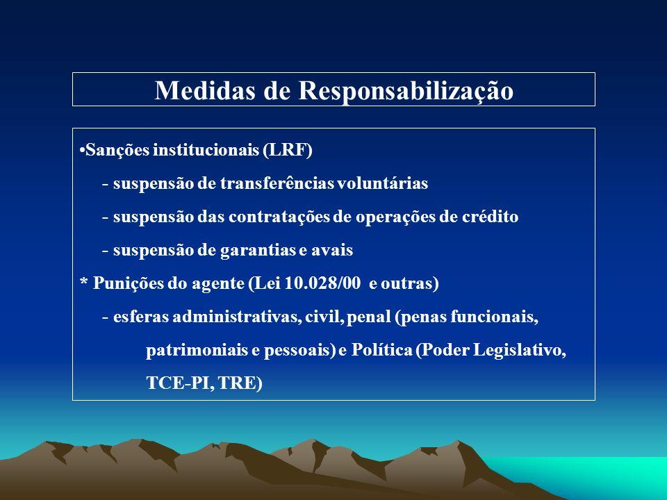Medidas de Responsabilização