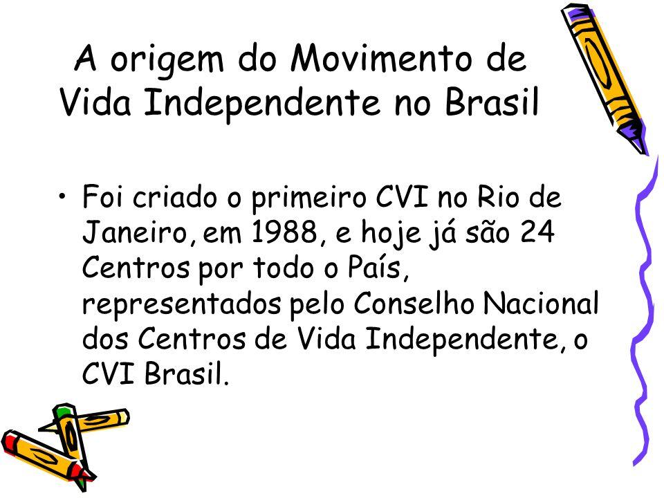 A origem do Movimento de Vida Independente no Brasil