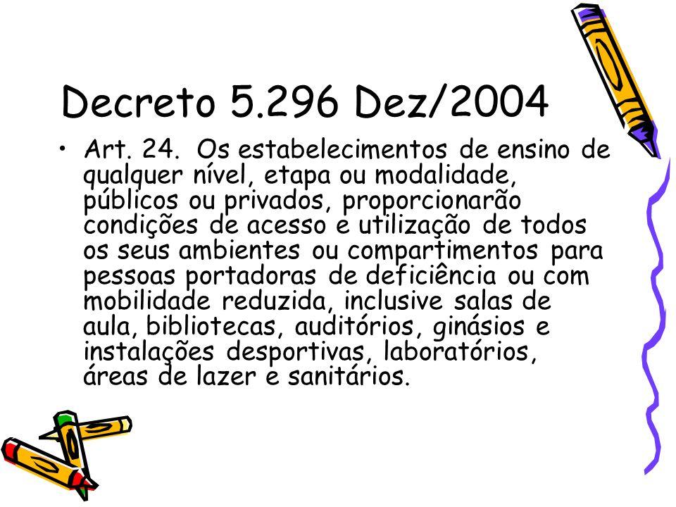 Decreto 5.296 Dez/2004