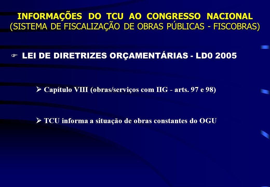  LEI DE DIRETRIZES ORÇAMENTÁRIAS - LD0 2005