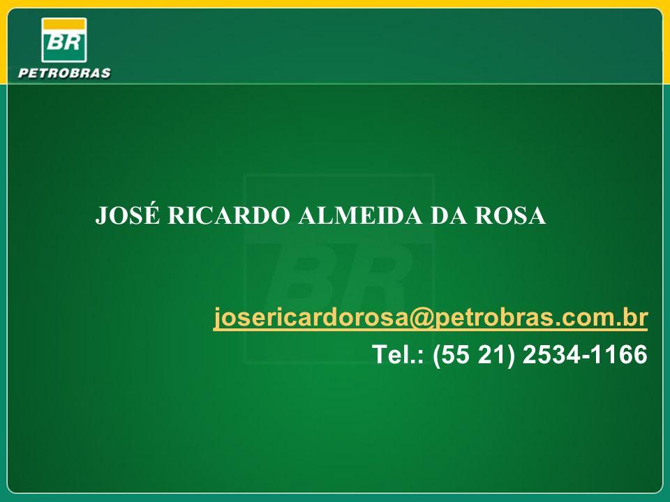 Tel.: (55 21) 2534-1166 JOSÉ RICARDO ALMEIDA DA ROSA