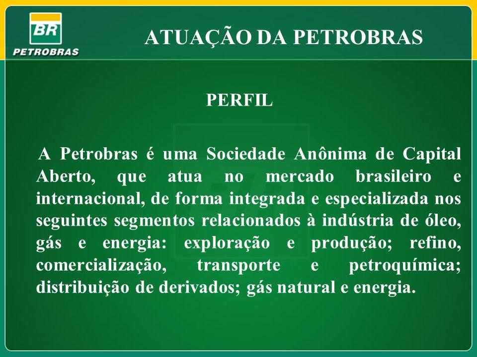 ATUAÇÃO DA PETROBRAS PERFIL