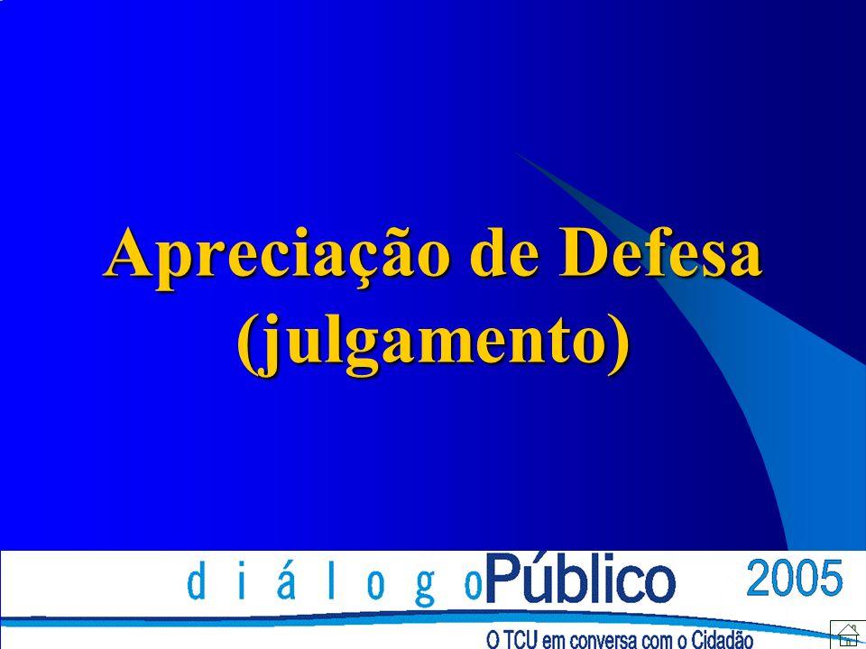 Apreciação de Defesa (julgamento)