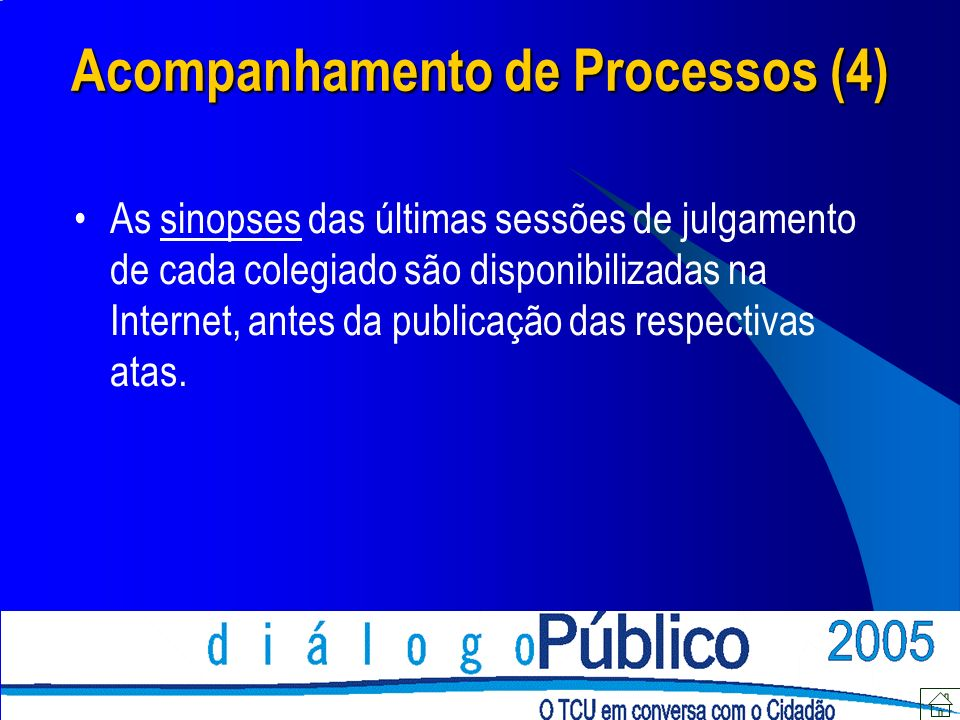 Acompanhamento de Processos (4)
