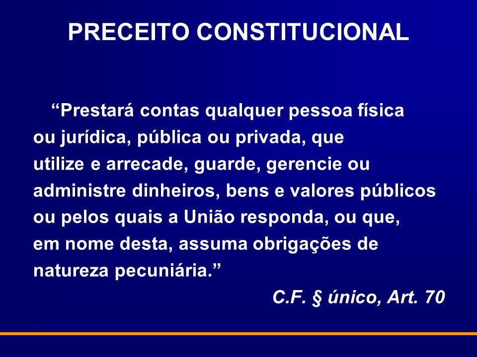 PRECEITO CONSTITUCIONAL