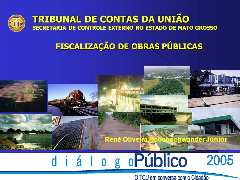 FISCALIZAÇÃO DE OBRAS PÚBLICAS