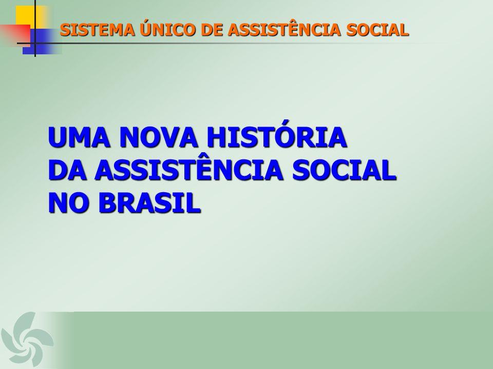 UMA NOVA HISTÓRIA DA ASSISTÊNCIA SOCIAL NO BRASIL