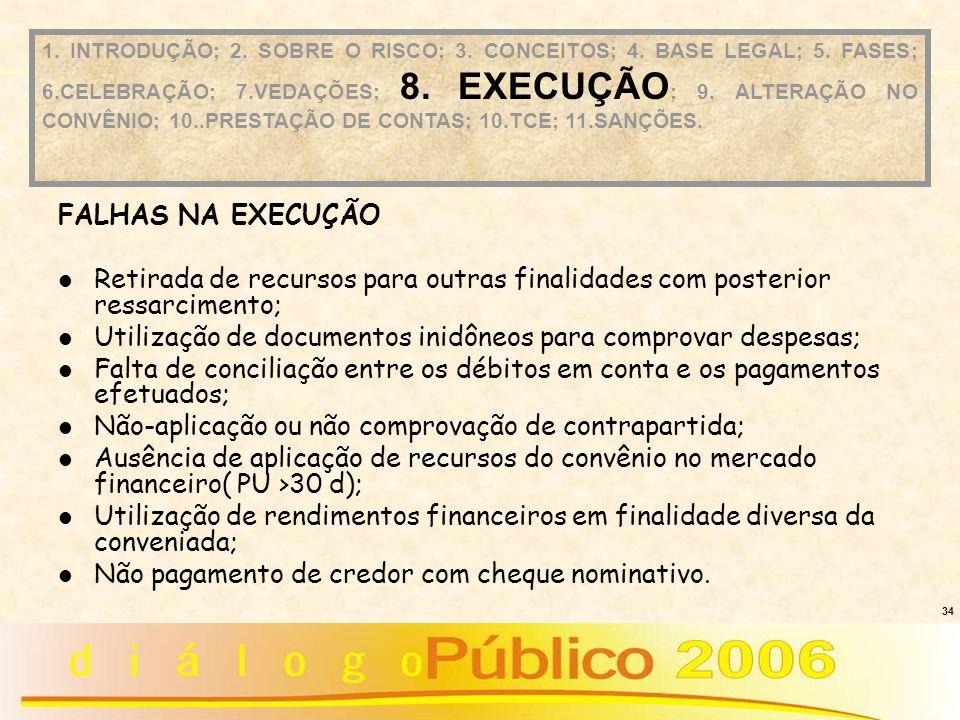 Utilização de documentos inidôneos para comprovar despesas;