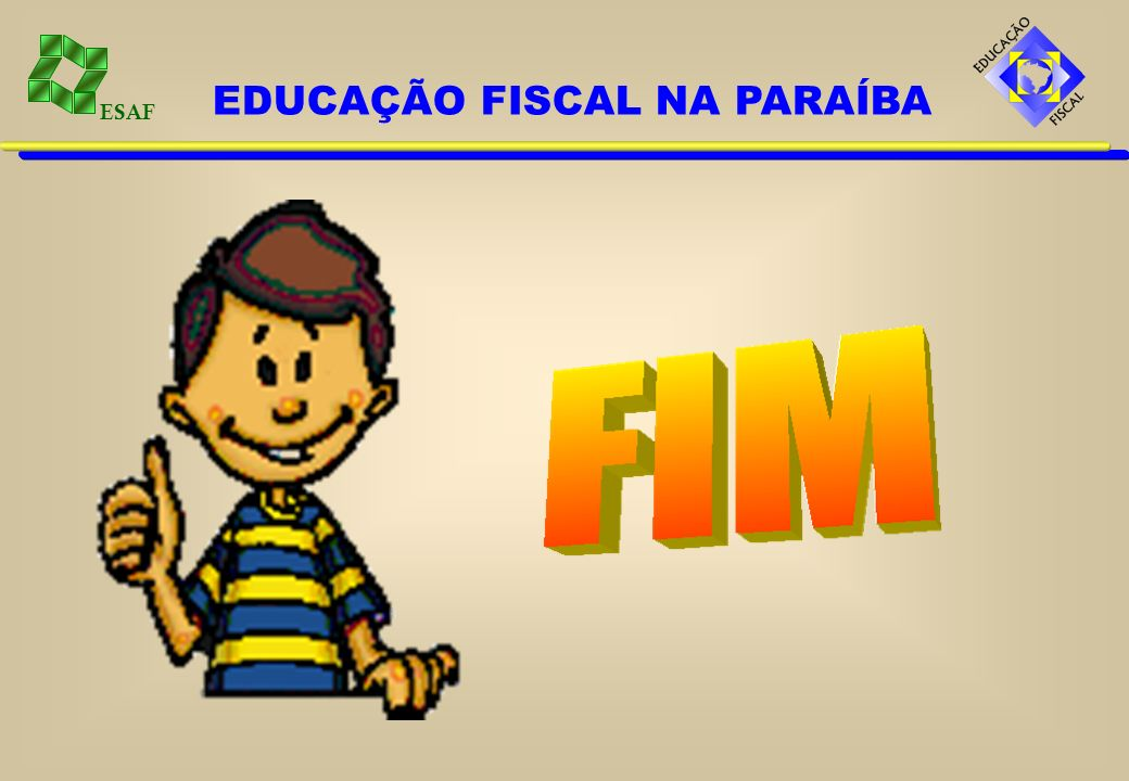 EDUCAÇÃO FISCAL NA PARAÍBA