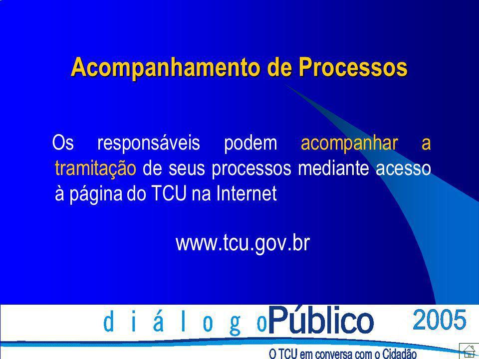 Acompanhamento de Processos
