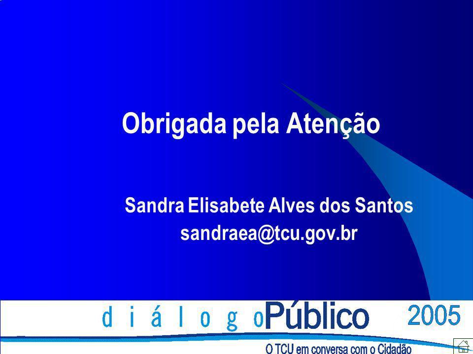 Sandra Elisabete Alves dos Santos sandraea@tcu.gov.br